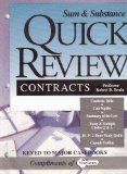 Sum & substance quick review, contracts