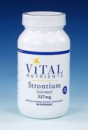 Vital Nutrients - Strontium 227 Mg 90 Vcaps