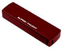 Super Talent Twist-CRR 8 GB USB 2.0 Flash Drive STU8GRRR (Red)