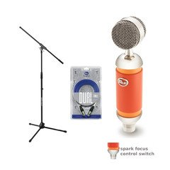 Blue Microphones Spark Condenser Mic Dual Cable Jamstand