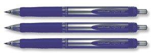 Uniball Rollerball - Paquete de 12 bolígrafos de tinta gel, azul