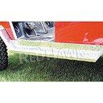Diamond Plate Running Board Set, Club Car front-471326