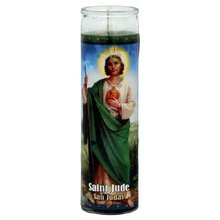 "Religious Candles 8 "" St Jude - San Judas Tadeo"