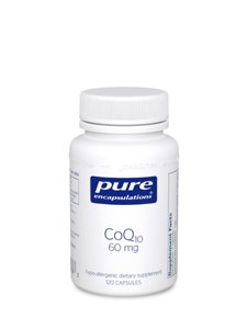 Pure Encapsulations Coq10 60 Mg 120 Vcaps (Coq61)