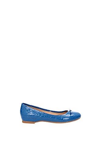 Ballerine Armani Jeans Donna Pelle Blu Ottanio A552728Z8 Blu 36EU