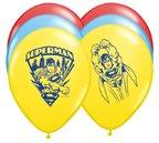 "PIONEER BALLOON COMPANY 25 Count Superman Latex Balloon, 11"""