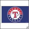 3 x 5 Feet Texas Rangers Nylon - indoor MLB Flag Made in US.