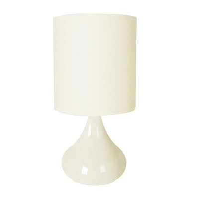 lloytron-l2202cr-60-watt-zenith-touch-table-lamp-14-inch-cream