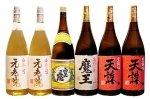 鹿児島芋焼酎おすすめ6本白玉醸造コース(魔王・白玉の露・元老院2本・天誅2本)