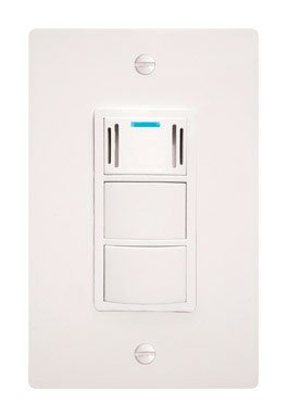 DewStop FS-100 Condensation Control Sentry Fan Switch, White (Humidity Sensing Bath Fan Switch compare prices)