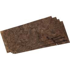 Walnut Burl 4 Way Match Veneer Pack, 8x18 4pc