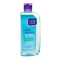 Clean & Clear Deep Cleaning Astringent for Sensitive Skin 8 fl oz (240 ml)