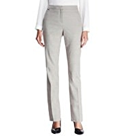 Autograph Slim Leg Cropped Trousers with Wool
