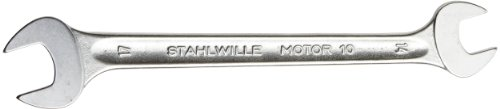 Stahlwille 10-14X17 Steel Double Open End Spanner, 14mm x 17mm Diameter, 205mm Length, 38mm Width photo