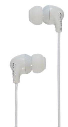 Cuffie Auricolari con Microfono Pioneer SE-CL501T-W per iPhone/Android/ BlackBerry Bianco