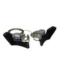 Shimano A050 Handlebar Mount 7 speed Road Thumb Shifter Set.