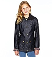 Pure Cotton and Corduroy Jacket with Shower Resistant technology