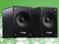 auvisio USB-Lautsprecher für PC und Notebook 20W
