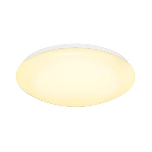 SLV LED Deckenleuchte Lipsy 50 Wandleuchte, rund, 30,4W, 72 SMD, 3000K, 120 Grad 133753