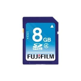 Fuji Kingston 8 GB Class 4 SDHC Flash Memory Card SD4/8GB
