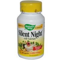Nature's Way Silent Night with Valerian -- 440 mg - 100 Capsules