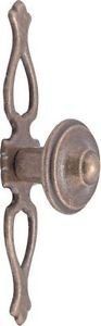 Pointed Door Knob - Antique Copper Plated from New A-Brend