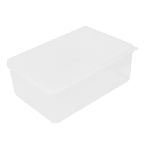 Kitchen Freezer Microwave Clear Plastic Food Storage Box Container 1100Ml