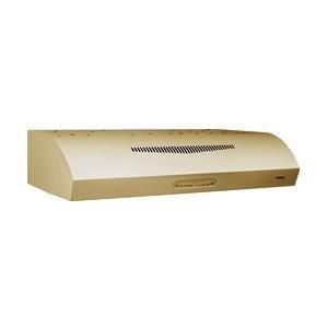 "Broan Qp230 350 Cfm 30"" Wide Steel Under Cabinet Range Hood With Heat Sentrytm An, Bisque front-587353"