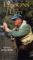 Lessons with Lefty - A Teaching Guide for Fly Casting by Lefty Kreh (Fly Fishing Tutorial DVD)