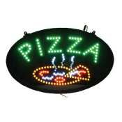 Winco Led-11 Pizza Led Sign With Dust-Proof Cover