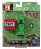 1 X Minecraft 3-inch Creeper Action Figure