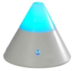 ZENBOW Aroma Diffuser + 2 FREE OILS (EOD brand - Lavender  &  Rose), Ioniser  &  Colour Changing Mood Light - All in one.