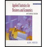 img - for Applied Statistics for Business and Economics: An Essentials Version (The Irwin/Mcgraw-Hill Series in Operations and Decision Sciences) book / textbook / text book