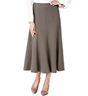 M&S Collection Panelled Long Skirt