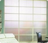 "Bali Diffusion Glass Acrylic Blinds 36""x60"", Unique Alternatives by Bali"