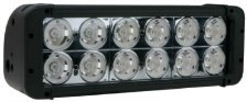 """Virile Industries 11"""" 120 Watt (10320 Lumen) Double Row Led Light Bar For Offroad And Marine Applications"""