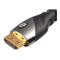 Monster Platinum Ultra High Speed HDMI Cable with Ethernet - 8 Ft. (Monster Black Platinum 8ft compare prices)