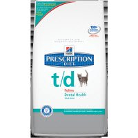 Hill's Prescription Diet t/d Feline Dental Health - 4lb