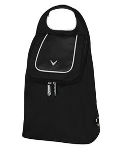 Callaway ladies shoe tote black/white