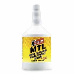 Red Line MTL Manual Transmission Oil- Pack of 4 Quarts