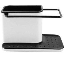 Styleys 3 IN 1 Stand for Kitchen Sink for Dishwasher Liquid, Brush, Cloth, Soap, Sponge, etc. Kitchen Sink Organizer