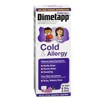 Dimetapp Dimetapp Childrens Cold Allergy Elixir Liquid Grape, Grape 4 oz by Dimetapp (Dimetapp Grape compare prices)