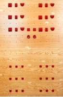 4 X 8 One Panel System Board - Advanced (40 Holds) | Climbing Holds | Red