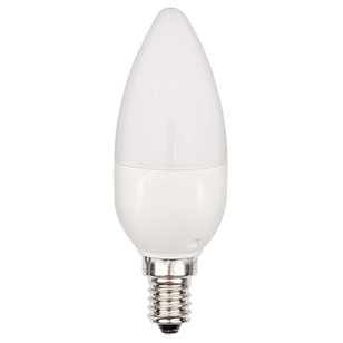 LEDs Change The World LED Lampe Kerze E14 4,5W ersetzt min. 25Watt Glühlampe echtes warmweiß 2700 Kelvin mit CREE LEDs
