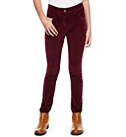 Cotton Rich Skinny Corduroy Trousers