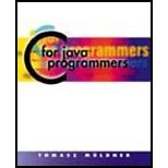img - for C for Java Programmers (00) by [Paperback (2000)] book / textbook / text book
