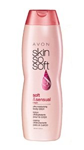 Avon Skin so Soft SSS Soft & Sensual Ultra Moisturiing Body Lotion Argan Oil 11.8oz.