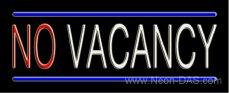 No Vacancy Outdoor Neon Sign 13 x 32