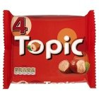 Topic Chocolate Bars 4 Pack