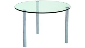 Micro Coffee Table 375 dia frosted/coloured